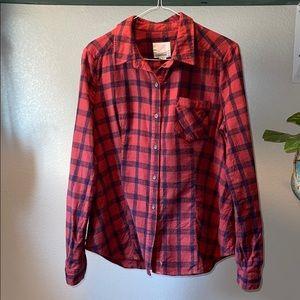 Women's Quicksilver Flannel Shirt